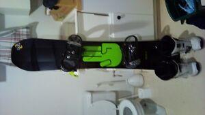 kit snow bataleon fix thermo 5150 et bottes k2 gr 10