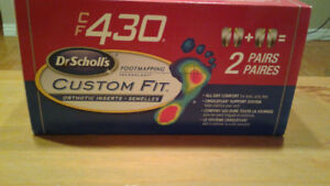 CF430® Dr. Scholl's® Custom Fit Orthotic Inserts one pair