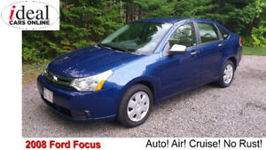 2008 Ford Focus SE Sedan          -AUTO-AIR-LOADED-NO RUST!!