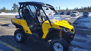 2012 Canam Commander 800 with extras! Financing available!