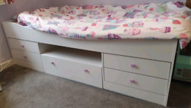 Child's Bed with Storage