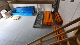 Dexion, HILO Premier Pallet Racking with boards Heavy Duty Excellent c