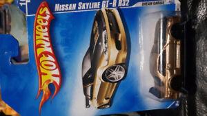 2009 hot wheels nissan skyline