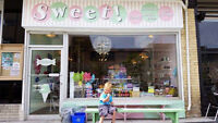 Part time Work busy ice cream candy shop downtown Guelph