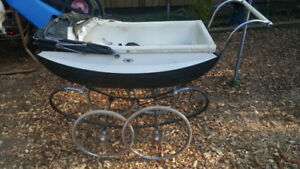 Vintage Pram baby buggy. Open to offers.