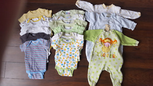 Boy/Neutral 0-3 mth clothing lot, some 3-6 included
