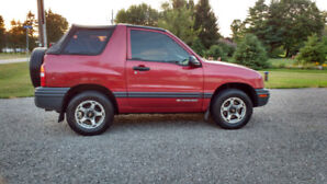 For Sale 1999 Chevy Tracker