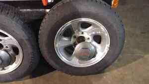 S10 first and second generation rims and snow tires. London Ontario image 1