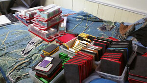 Wide assortment of Sizzix and cricut cartridges