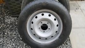 Kia Sorento space saver tyre .