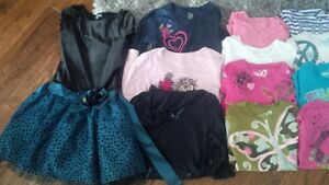 Girls 7/8 Fall/Winter Clothes including Osh Kosh Snow suit Cambridge Kitchener Area image 2