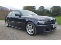 2004/54 BMW 318 2.0 M SPORT COUPE - LADY OWNER LAST 7 YEARS - SAT NAVIGATION