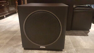 "NEW!   POLK AUDIO PSW125 12"" 300W Subwoofer with FULL Warranty"
