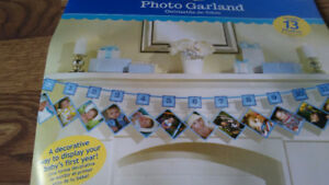 Photo Garland Baby Party Home Decor Kids