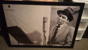 RARE Vintage Apple Think Different Poster - Sinatra