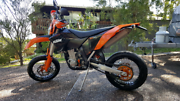 MY09 KTM 530 EXC-F SUPERMOTO Belmont Lake Macquarie Area Preview