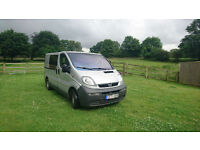 LHD LEFT HAND DRIVE Vauxhall Vivaro 1.9DTi AIR CONDITIONING