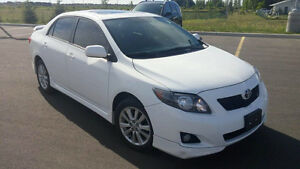 2010 Toyota Corolla S for trade or sale