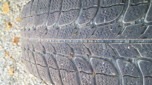 4 Michelin 175/65r14 Winter Tires Kitchener / Waterloo Kitchener Area image 3