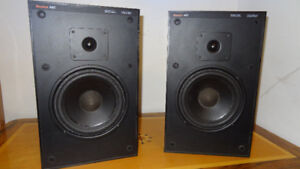 Boston Acoustics A 60 vintage speakers. Serviced: New surrounds.
