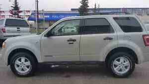 2008 ESCAPE WINTER READY COMMAND START LOW KMS ALL CREDIT ACCEPT
