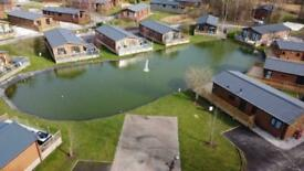 Waterfront Lodge South Lake District North West Lancashire Log Cabin Cottage