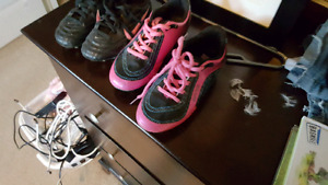 Soccer shoes for young girls