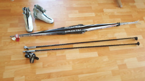 Cross-Country Skis, Poles, and Boots!