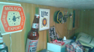 COLLECTION OF LIGHT UP BEER SIGNS LABATT COORS LIGHT Cornwall Ontario image 4