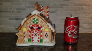 Partylite Gingerbread Tealight house