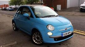 2014 Fiat 500 0.9 TwinAir 105 Lounge 2dr Manual Petrol Convertible
