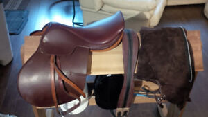 English Saddle and Accessories