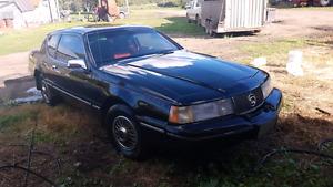 1988 mercury cougar **5.0 v8**