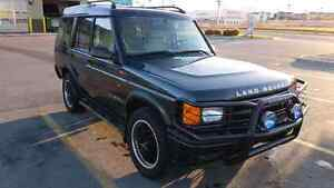 2000 land rover discovery II Luxury suv open to trades
