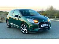 2017 DS 3 Puretech Connected Chic 1.2 Hatchback Petrol Manual