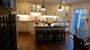 Solid ¾ Hickory Harwood Floor Made in Canada