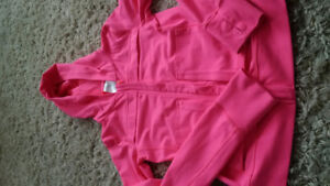 Ivivva jacket - girls size 14 - and shorts