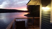 McGregor Lake Cottage for the Fall