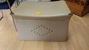 1960's Wooden Vacuum Cleaner Box