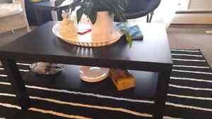 Coffee table+ End table+ Bookcase (IKEA)