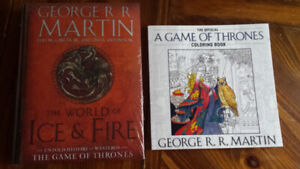 Books - Game of thrones