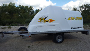 Snowmobiling trailer