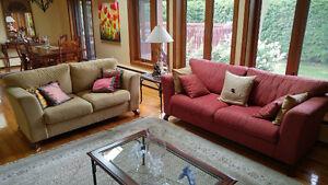 Mobilier de salon 2 morceaux / Living Room Set 2 pieces
