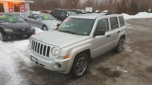2008 JEEP PATRIOT 4X4 *** LOADED SUV *** CERT $6495