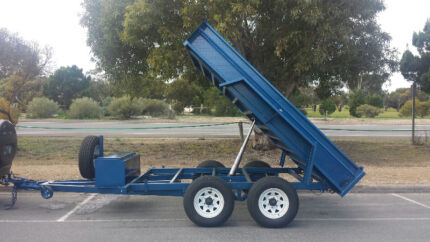 FROM ONLY $51 P/WEEK ON FINANCE* 10x6 TANDEM HYDRAULIC TRAILER