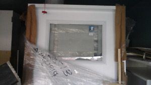 New insulated Entry door Factory Painted w/PVC jamb nice glass