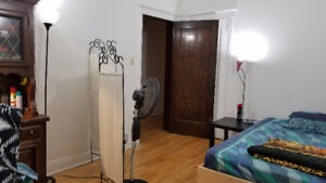 SUBLET - Unfurnished room in 5 1⁄2 apt. in McGill Gheto