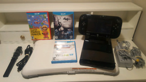 Complete Nintendo Wii U Package with 5 games
