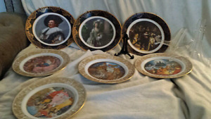 Collectible Porcelain Plates. Made in England!