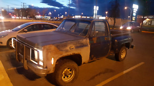 1978 Chevy 10 step side 4x4